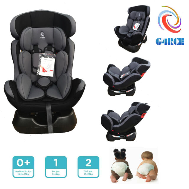 G4RCE 3 in 1 Baby Child Car Safety Booster Seat for Group 0/1/2 25kg ...