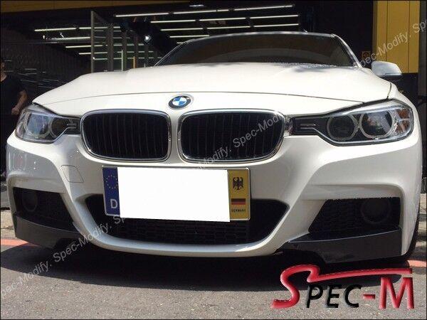Performance Carbon Fiber Front Splitter Lip For BMW I I - 320i bmw 2012