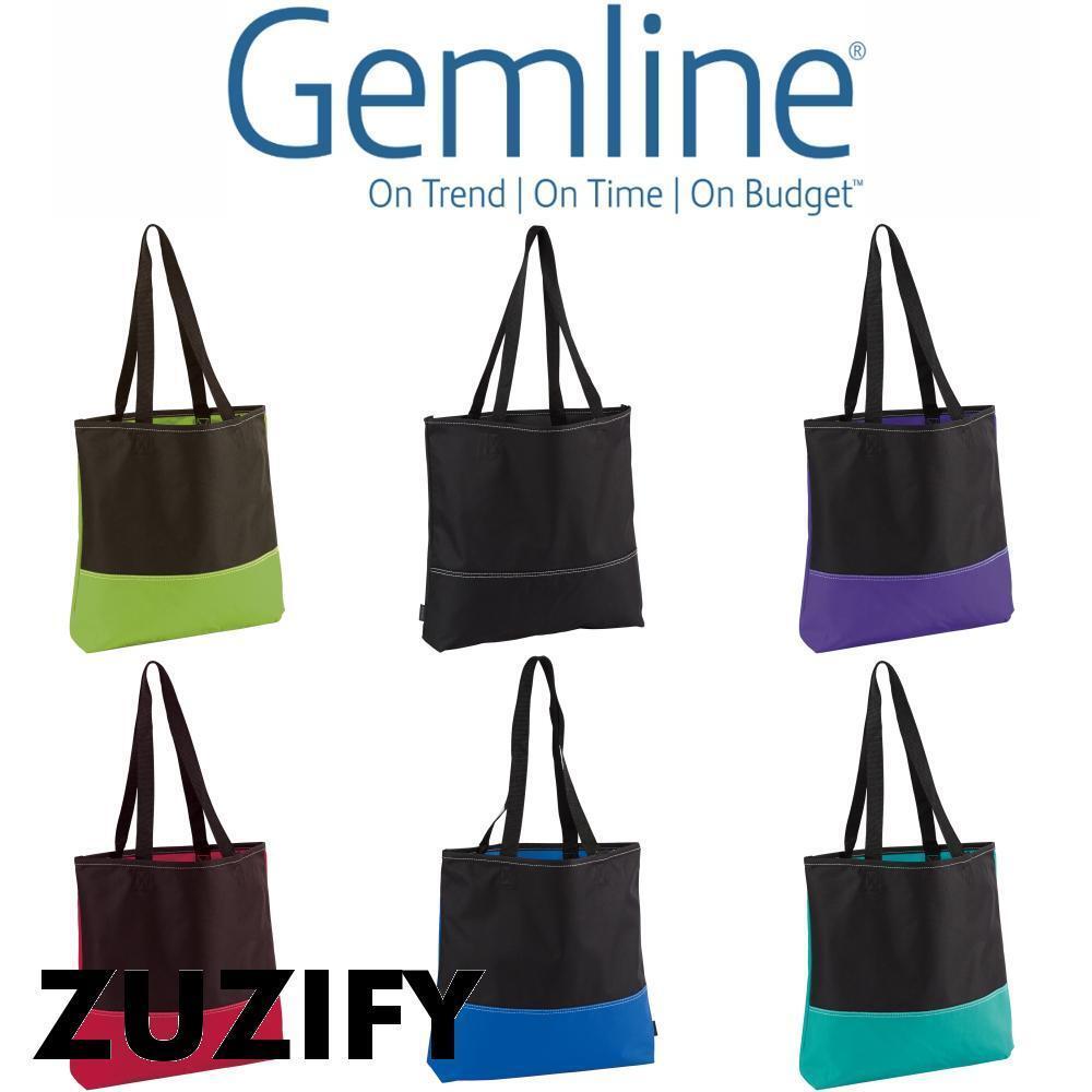 Gemline Prelude Convention Tote Bag. 1513 Purple One Size | EBay