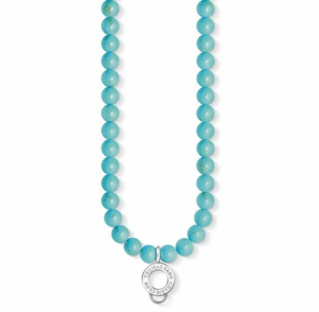 Thomas sabo cx0238 turquoise bead necklace 60 cm ebay thomas sabo cx0238 turquoise bead necklace 60 cm rrp99 mozeypictures Gallery
