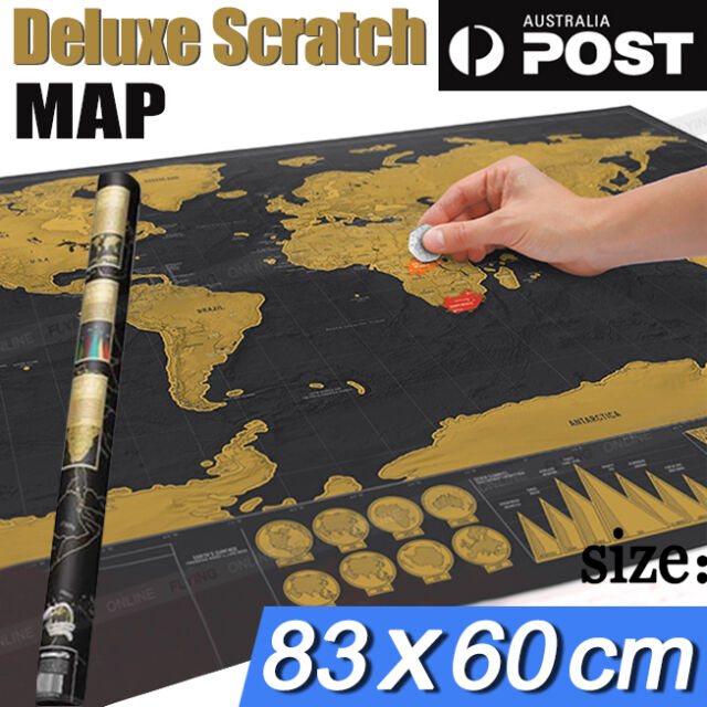 Premium large scratch world map where you travel poster atlas layer premium large scratch world map where you travel poster atlas layer off gift new gumiabroncs Image collections