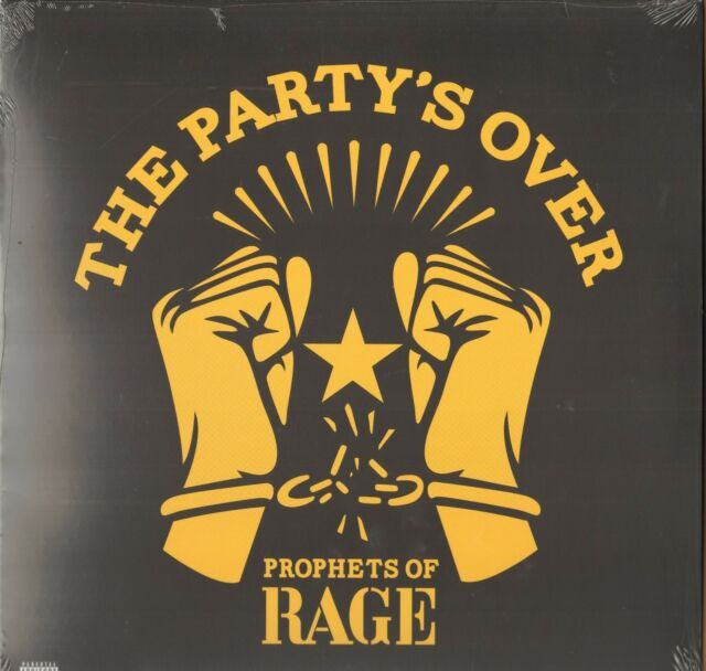Prophets Of Rage - The Party's Over     Lim. Red Vinyl LP  !!! NEU !!!