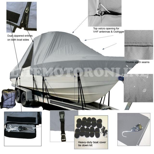 Aquasport 225 Explorer WA Cuddy Hard-Top Boat Cover  sc 1 st  eBay & Aquasport 225 Explorer WA Cuddy Hard-top Boat Cover | eBay