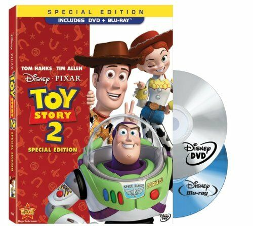 Toy Story 2 (Two-Disc Special Edition Blu-ray/DVD Combo w/ DVD Packaging) - NEW