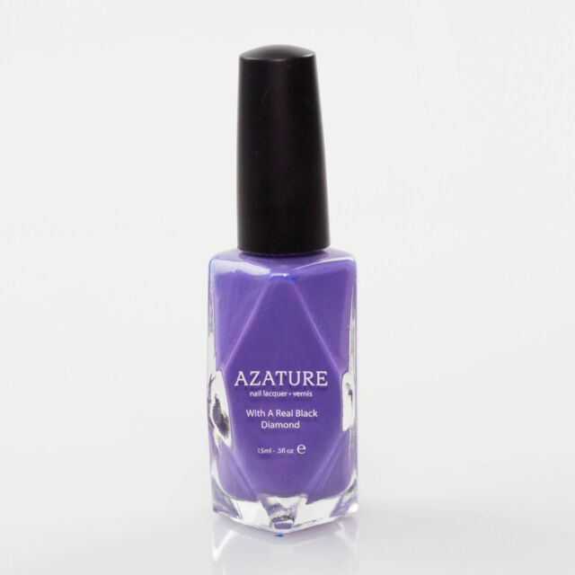 AZATURE Black Diamond Nail Lacquer Light Lilac 0.5 Fluid Ounce 100 ...