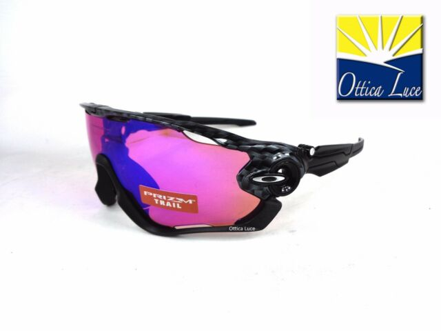 OAKLEY JAWBREAKER 9290 2531 CARBON FIBER PRIZM TRAIL Sunglass Sonnenbrille 25 31