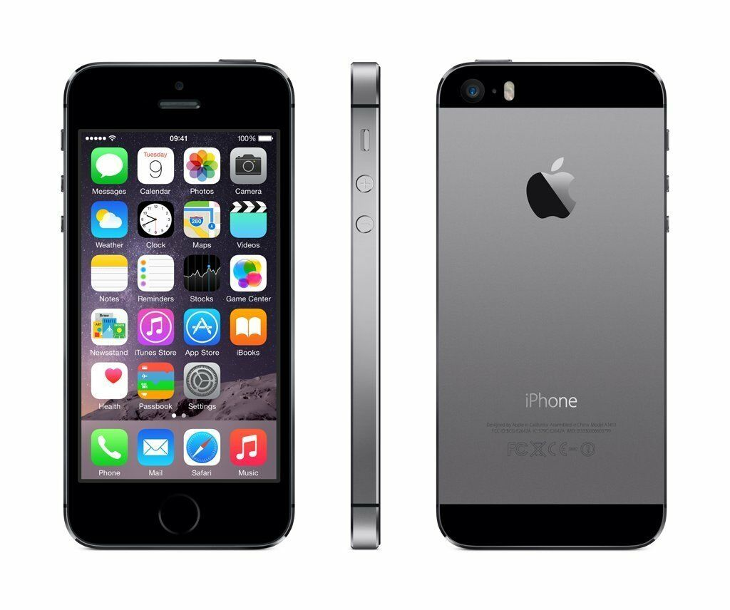 Ap apple iphone 5s space gray 32gb - Picture 1 Of 1