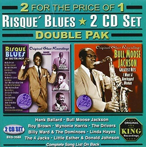 Various Artists - Risque Blues Double Pak / Various [New CD]