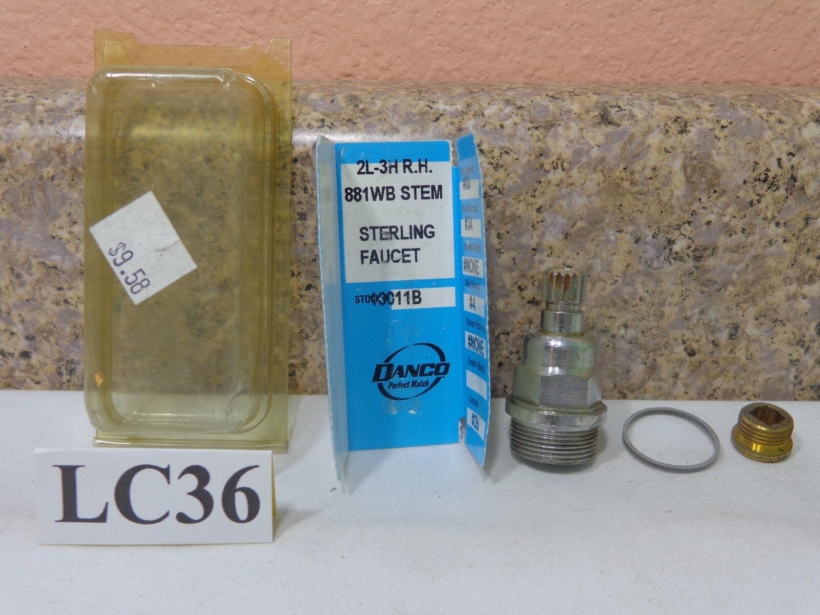 Danco 2l-3h Hot Stem 16011b Sterling Faucet | eBay