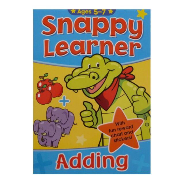 Snappy Learner hinzufügen von Buch & Belohnungstafel Addition Bildung Mathematik