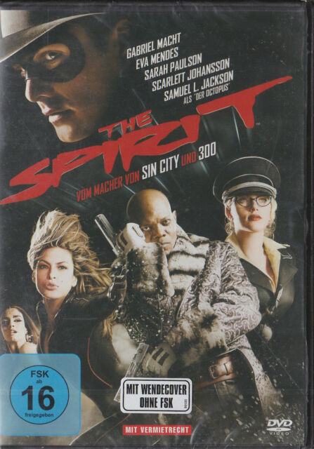 The Spirit - DVD - von Frank Miller - Neu und originalverpackt in Folie