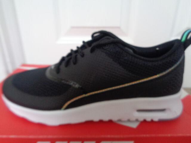 women's nike black air max thea trainers