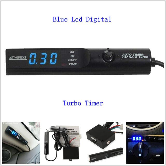 LCD Universal Apexi Auto Turbo Timer for Na&turbo Black Pen Control ...