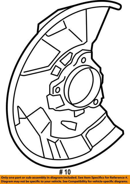 Toyota 4778104030 Genuine Oem Factory Original Splash Shield