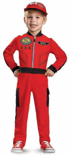 Childs Disney Planes Fire u0026 Rescue Dusty Crophopper Airplane Costume Toddler 2t  sc 1 st  eBay & Childs Disney Planes Fire u0026 Rescue Dusty Crophopper Airplane Costume ...