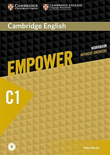 Cambridge English Empower Advanced Workbook without Answers with Downloadable Au