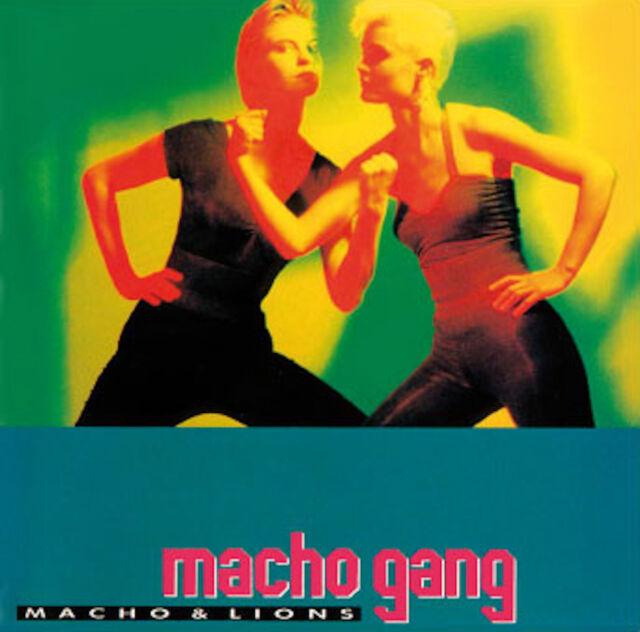 Italo CD Macho Gang Macho and Lions