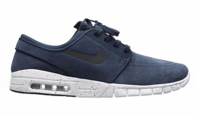 Nike STEFAN JANOSKI MAX L Obsidian Black White 685299-401 (461) Men's Shoes