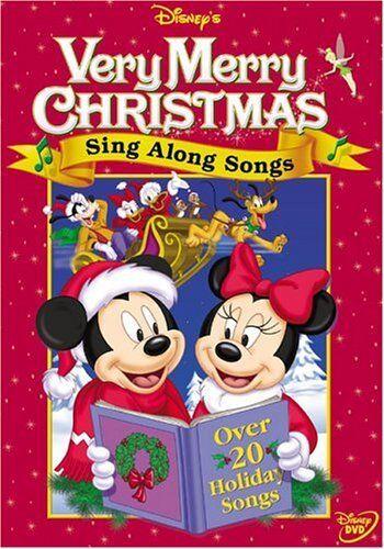DISNEY'S SING ALONG SONGS :VERY MERRY CHRISTMAS - DVD - REGION 1 - SEALED