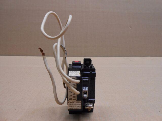 ITE Pushmatic Tri-shield P120GF 20 Amp 1 Pole Breaker   eBay