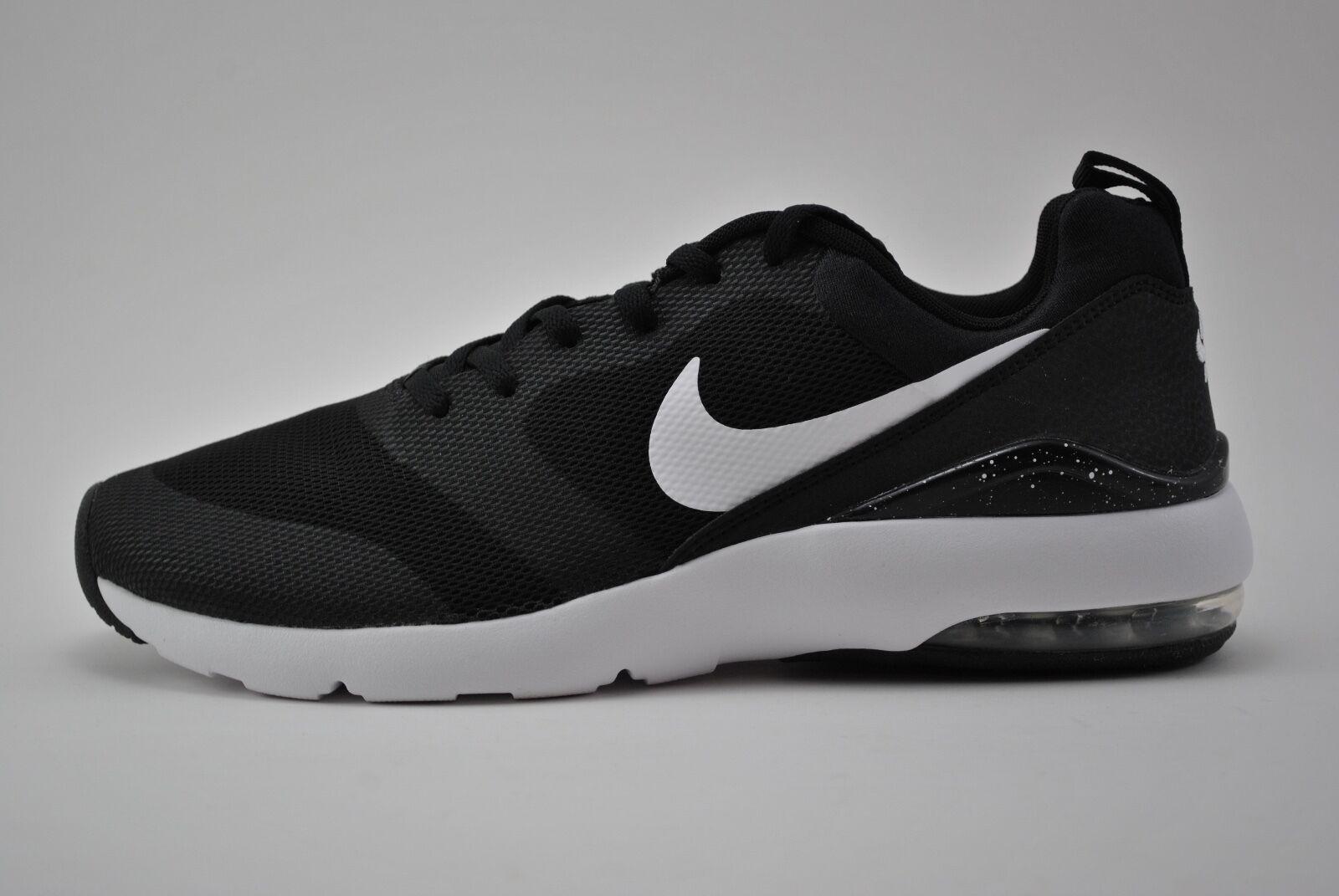 Womens Nike Air Max Siren Running Shoes Size 11.5 Black White Silver 749510 004
