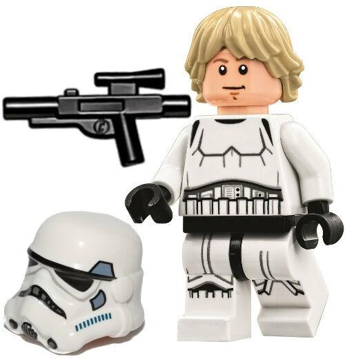 Lego Star Wars Luke Skywalker Minifig Stormtrooper Disguise Minifigure 75159 | eBay