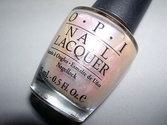 OPI Iridescent White Pearl of Wisdom Nail Polish Lacquer NL H51 HTF ...