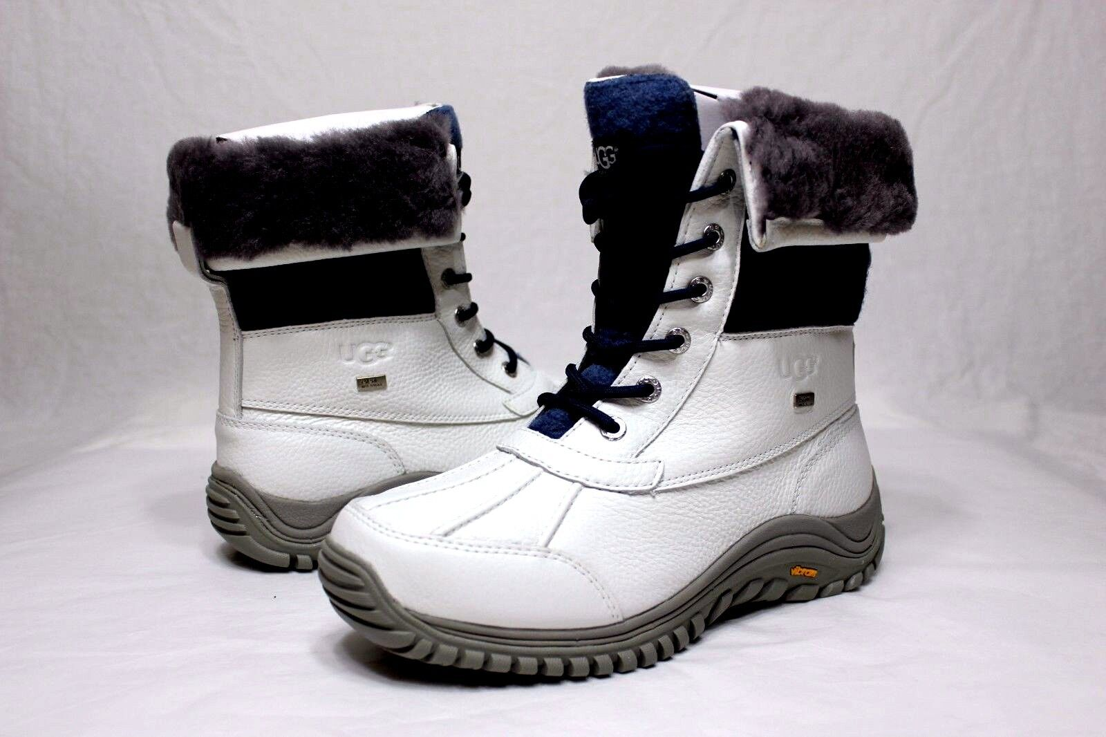 item 3 Ugg Womens Adirondack II White / Blue Color Snow Boots Size 5 US -Ugg Womens Adirondack II White / Blue Color Snow Boots Size 5 US
