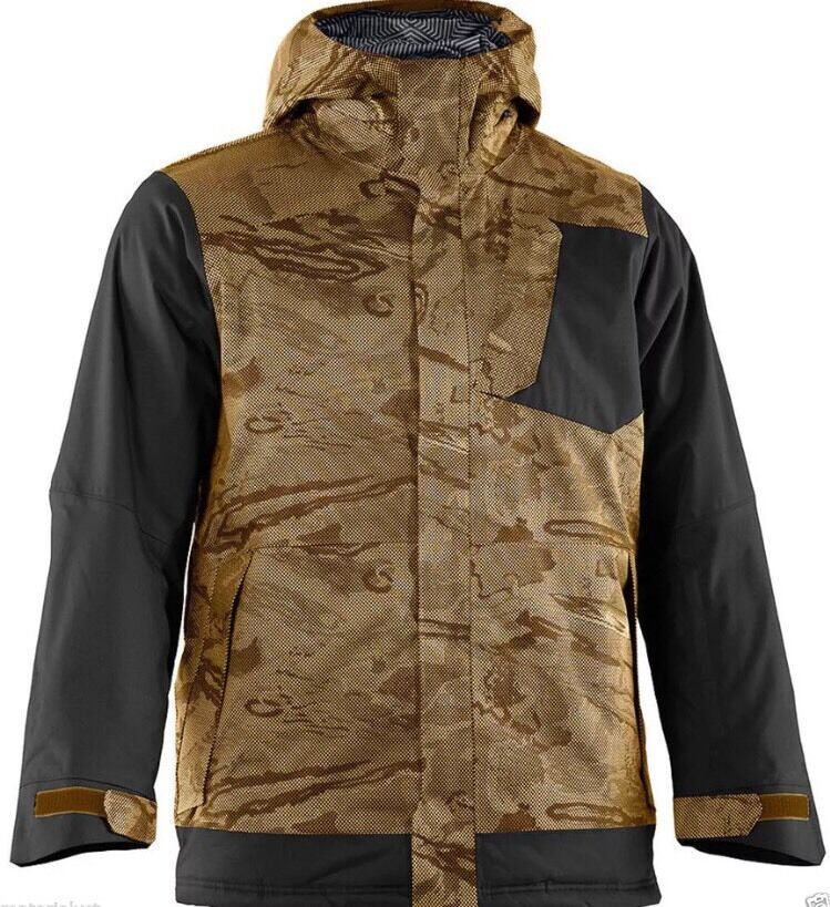 under armour jackets brown