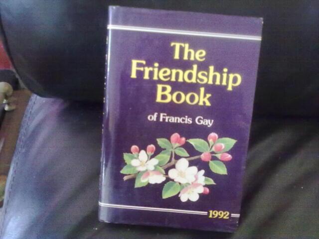 The Friendship Book 1992-Francis Gay Hardback English D.C.Thomson & Co 1991