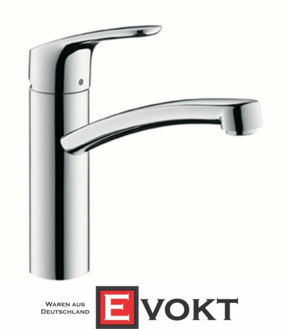 Hansgrohe Focus E 2 Fixed Spout Sink Mixer Chrome 31806000 Kitchen ...