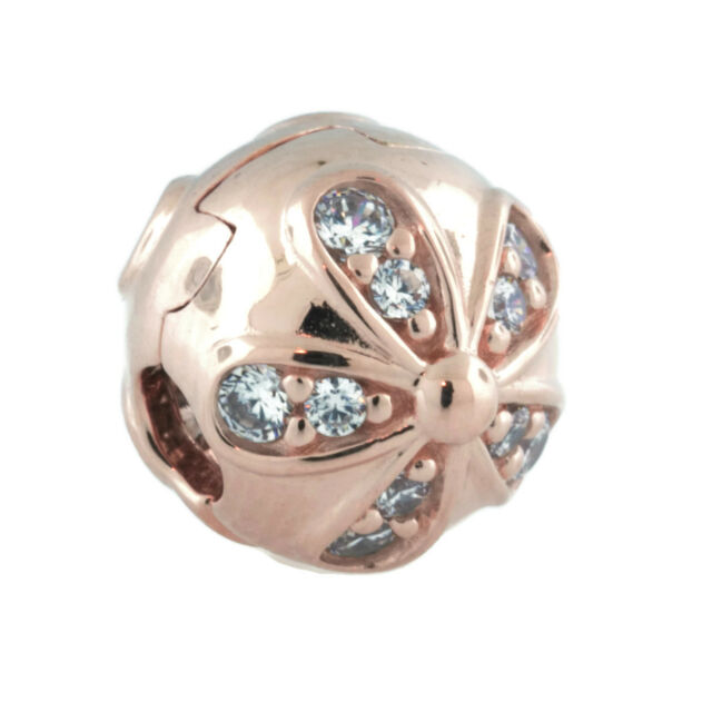 pandora rose clip charms