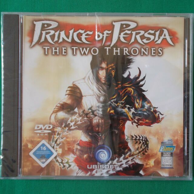 PC - DVD ROM ► Prince Of Persia: The Two Thrones ◄ NEU & OVP