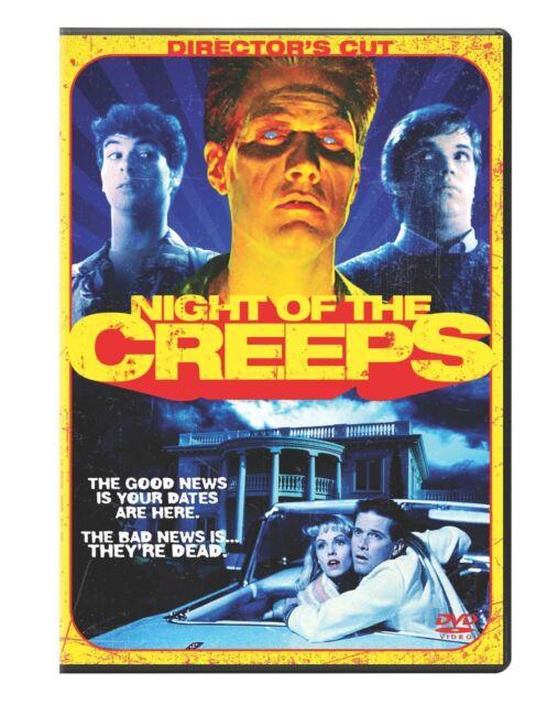NIGHT OF THE CREEPS (Director's Cut)   - DVD - Sealed Region 1