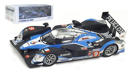 Spark 43LM09 Peugeot 908 HDi FAP #9 Le Mans Winner 2009 - 1/43 Scale
