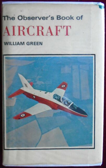 OBSERVER's BOOK of AIRCRAFT No.11 by WILLIAM GREEN with D/W 1975 24th EDITION