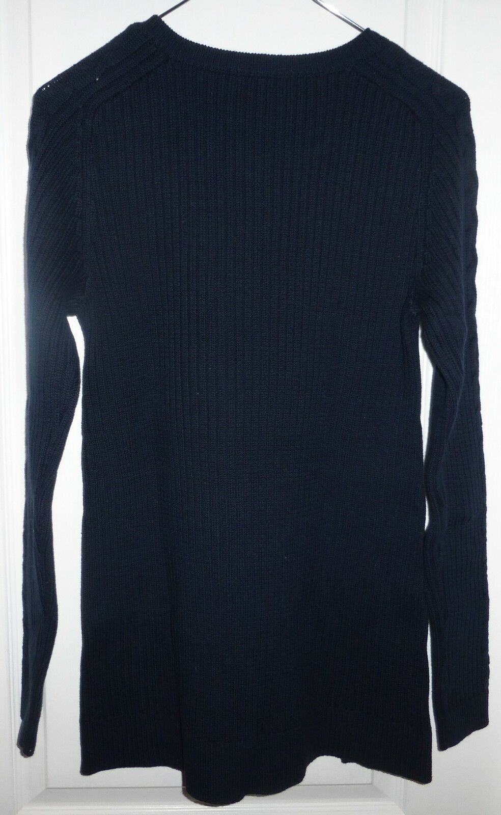 NLWT Nautica Tunic Cable Knit Ladies Womens Sweater Navy Blue ...