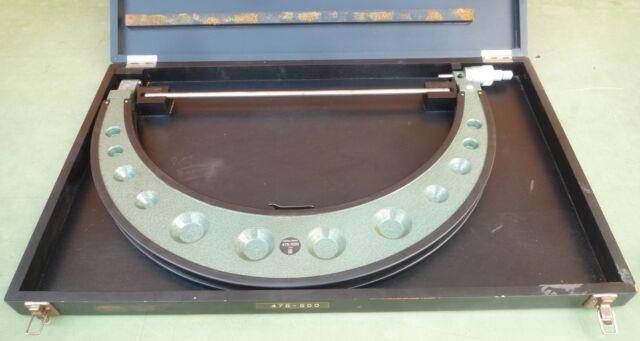 HOMMEL Bügelmessschraube 475-500 Außen Mikrometer Micrometer Bügel Messschraube