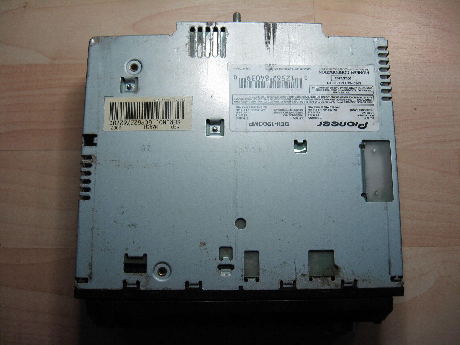 Pioneer Deh 2100 Cd Playerusb Gsxr Dyna 2000i Wiring-diagram Rj45 ...