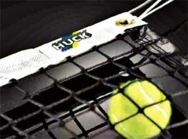 Grevinga® SCHOOL Tennisnetz Tennis Netz Standard 3 mm stark 131004