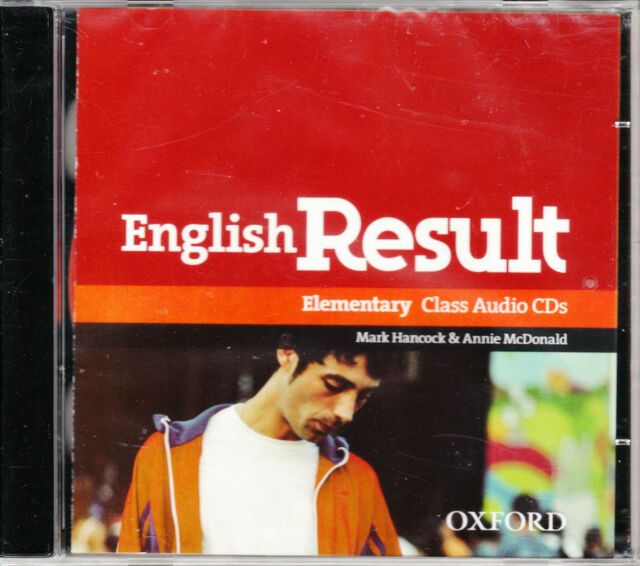 Oxford ENGLISH RESULT ELEMENTARY Class Audio CD's (2) @BRAND NEW Sealed@