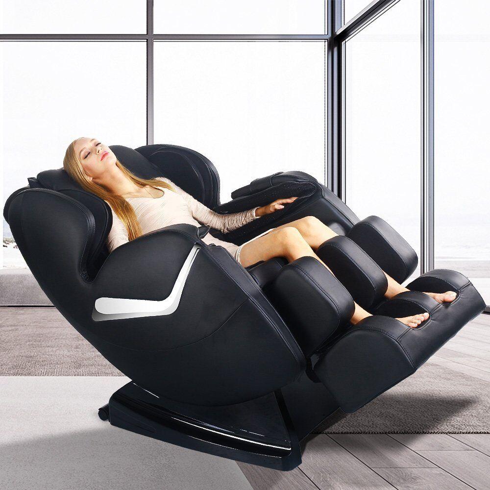 Picture 13 of 21; Picture 14 of 21 & 2017 Real Relax Full Body Shiatsu Massage Chair Recliner Zero ... islam-shia.org