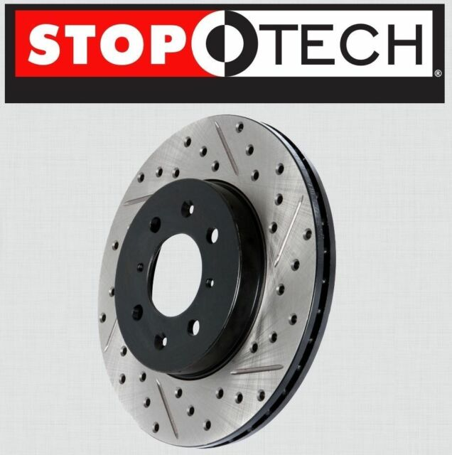 Drilled slotted rotors left right casino rennes alma