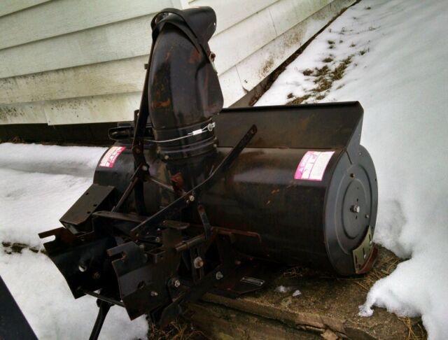 Craftsman Snowblower Attachment : Snow blower attachment ayp craftsman sears quot model