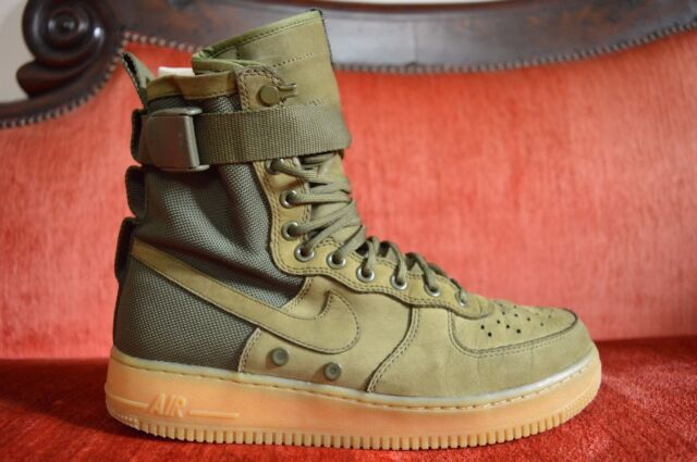 nike special field air force 1 olive green