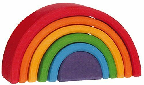 Lime wooden rainbow, Grimms 10,5 cm