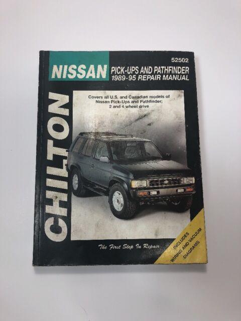 Total car care repair manuals nissan pick ups and pathfinder 1989 nissan pick ups and pathfinder 1989 95 chiltons total car care repair manual fandeluxe Gallery