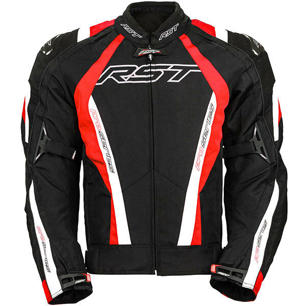 RST Pro Series CPX-C Motorcycle Motorbike Waterproof Textile Jacket - Red