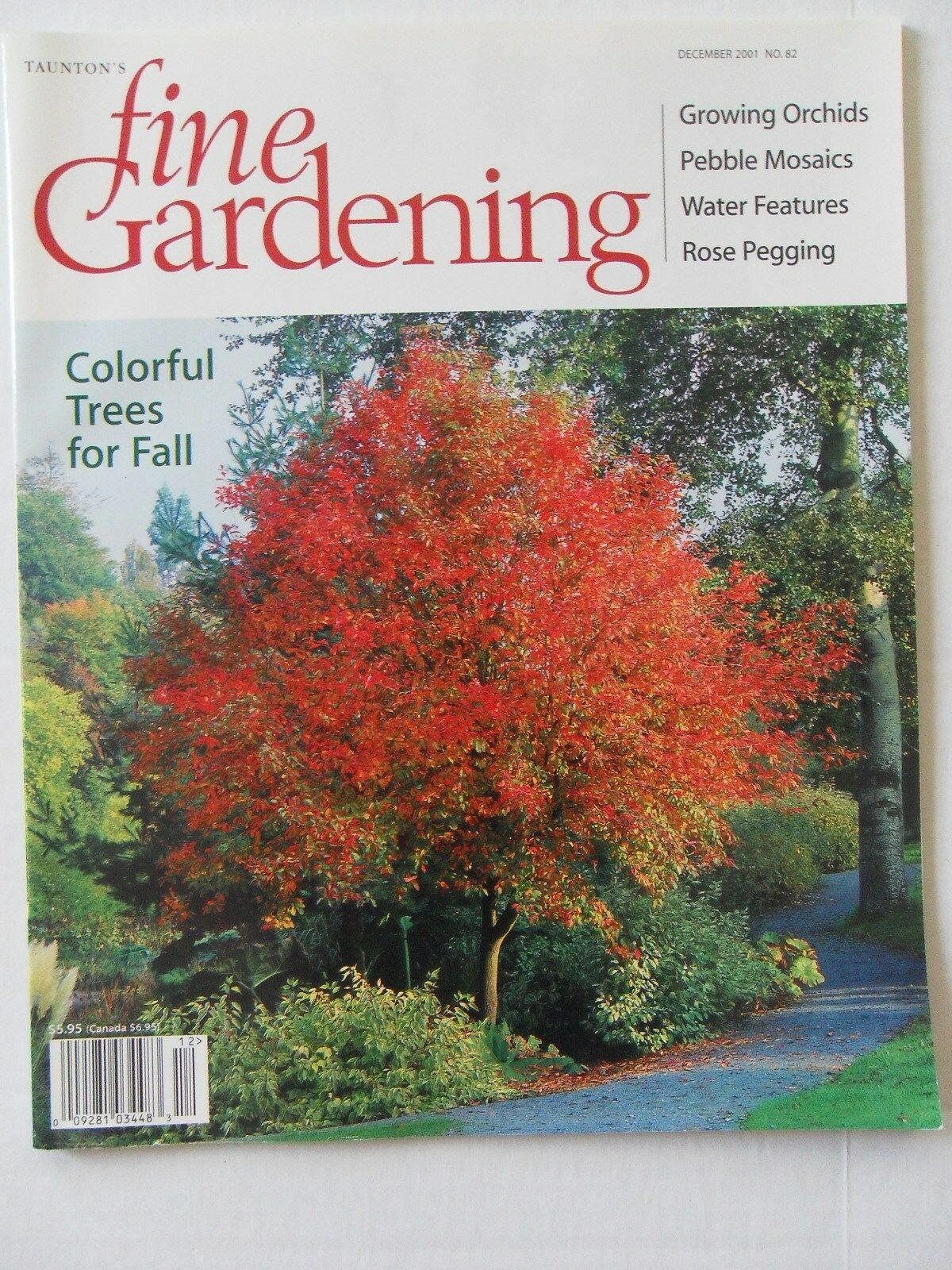 Fine Gardening Magazine December 2001 No 82 Taunton Press eBay