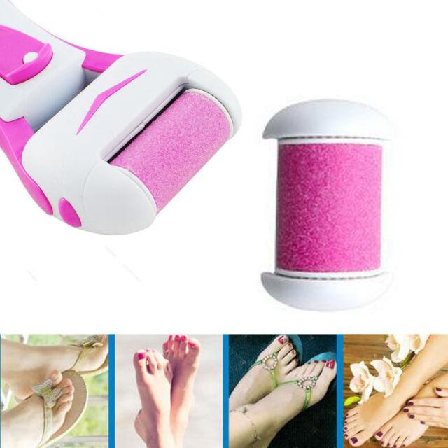 Electric Pedicure Kit Foot Care Hard Dry Callus Skin Remover Refill ...